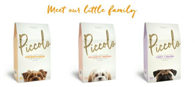 собачий корм Пикколо фото упаковки