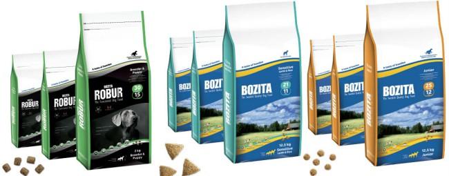 собачий корм Бозита фото упаковки