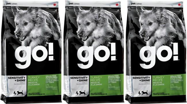 корм GO для собак фото упаковки